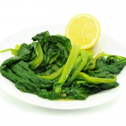 Spinaci olio e sale